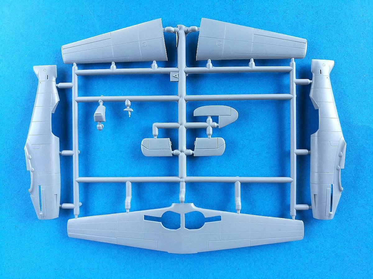 Special-Hobby-SH-72221-Messerschmitt-Me-209-V-4-16 Messerschmitt Me 209 V4 im Maßstab 1:72 von Special Hobby SH 72221