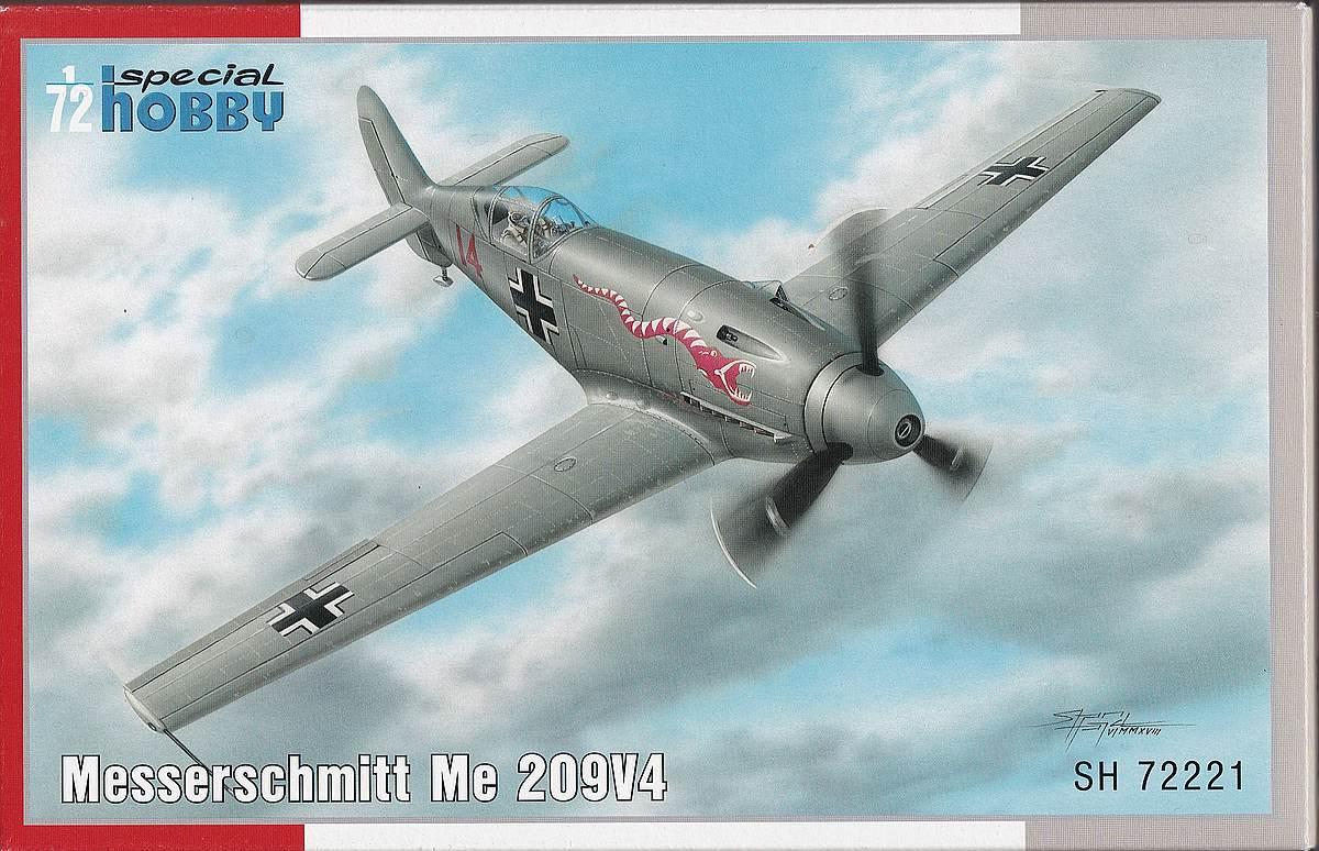 Special-Hobby-SH-72221-Messerschmitt-Me-209-V-4-9 Messerschmitt Me 209 V4 im Maßstab 1:72 von Special Hobby SH 72221