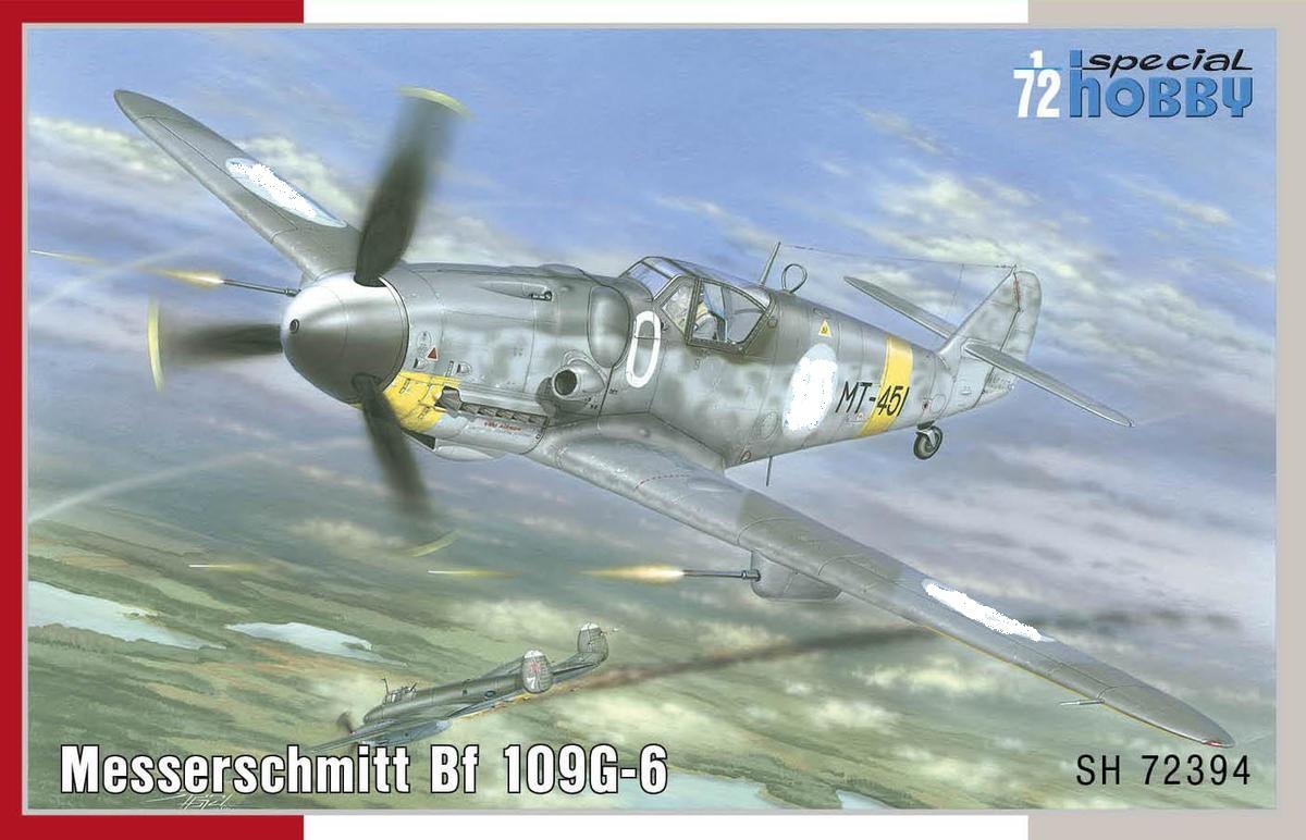 Special-Hobby-SH-72394-Messerschmitt-Bf109-G-6-Finnland-4 Messerschmitt Bf 109 G-6 MERSU in Finnland in 1:72 von Special Hobby SH 72394