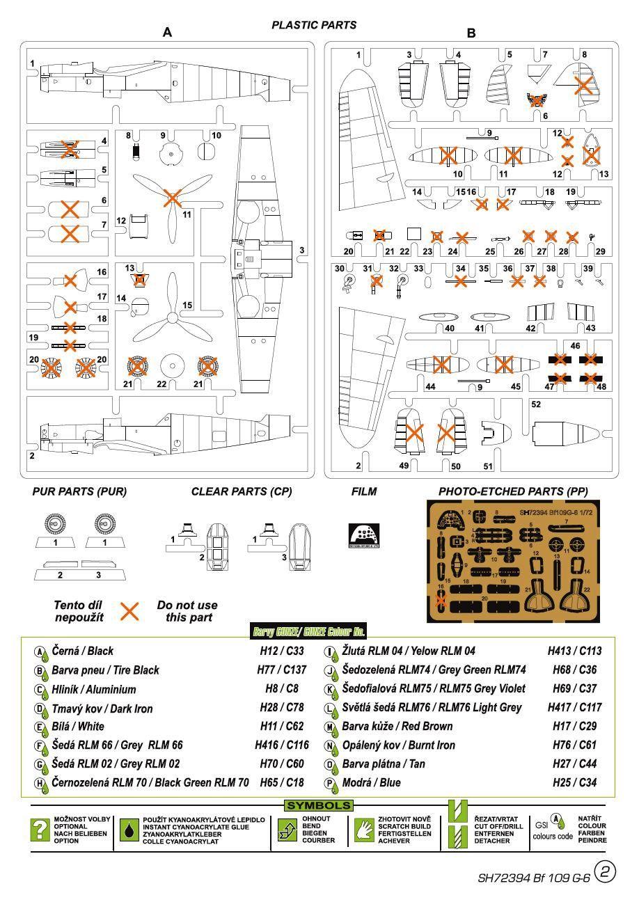 Special-Hobby-SH-72394-Messerschmitt-Bf109-G-6-Finnland-5 Messerschmitt Bf 109 G-6 MERSU in Finnland in 1:72 von Special Hobby SH 72394