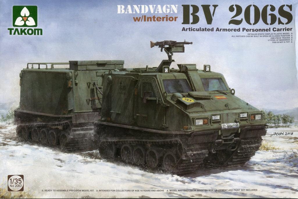 Takom_BV-206S_33 Hägglunds BV 206S - Takom 1/35