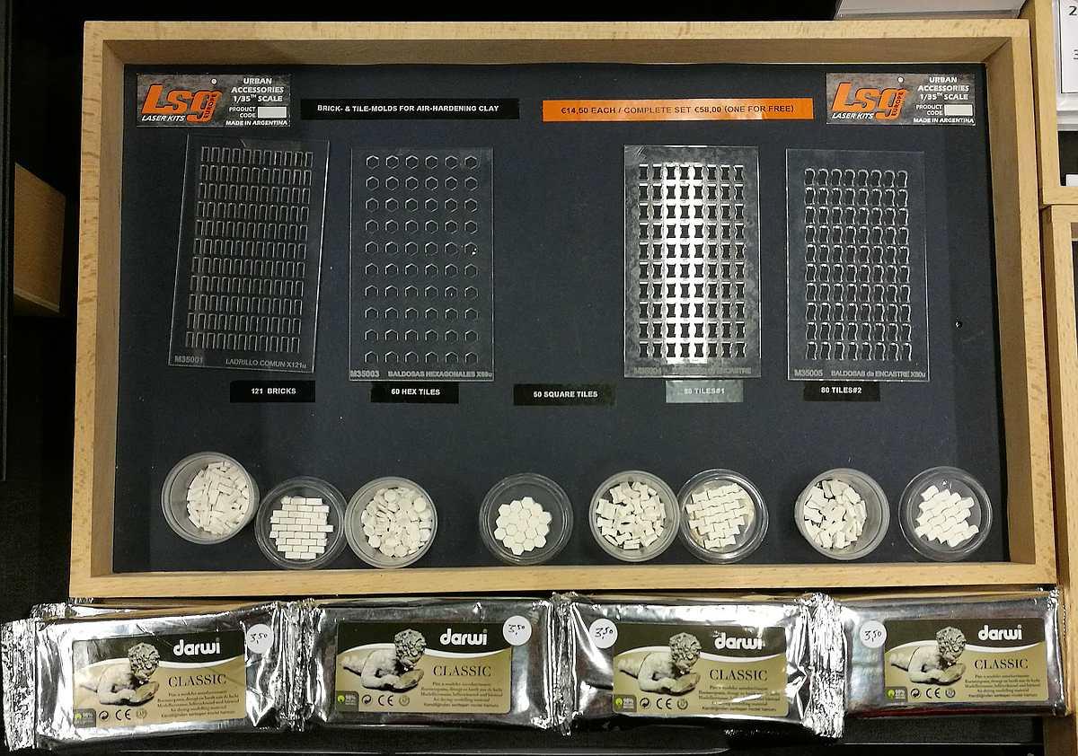 YenModels-M-3500-Plaster-Molds-1 Pflaster- und Mauersteine selbstgemacht - mit diesen Formen kein Hexenwerk Yenmodels M 35001 bis M 35005