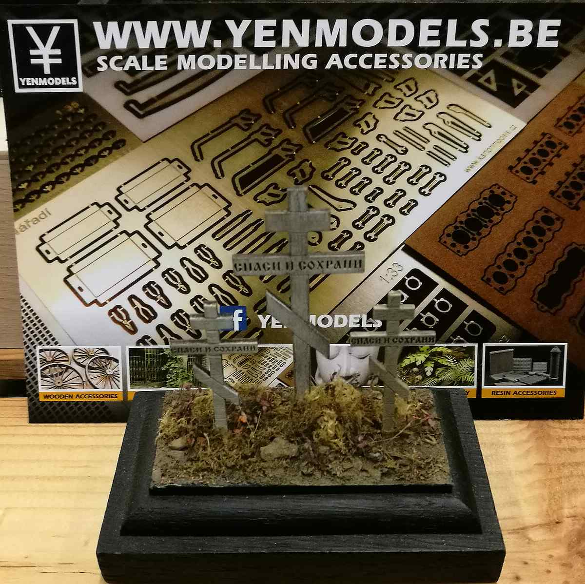 YenModels-YML-35005-Orthodox-Russian-Crosses-1 Orthodox Russian Crosses im Maßstab 1:35 von YenModels YML 35005