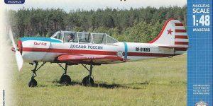 Jakowlew Jak-52 DOSAAF im Maßstab 1:48 von ARK Models AK 48016