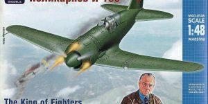 Polikarpov I-185 im Maßstab 1:48 von ARK Models AK 48045