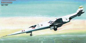 Douglas X-3 Stiletto im Maßstab 1:72 von AZ Model AZ 7597