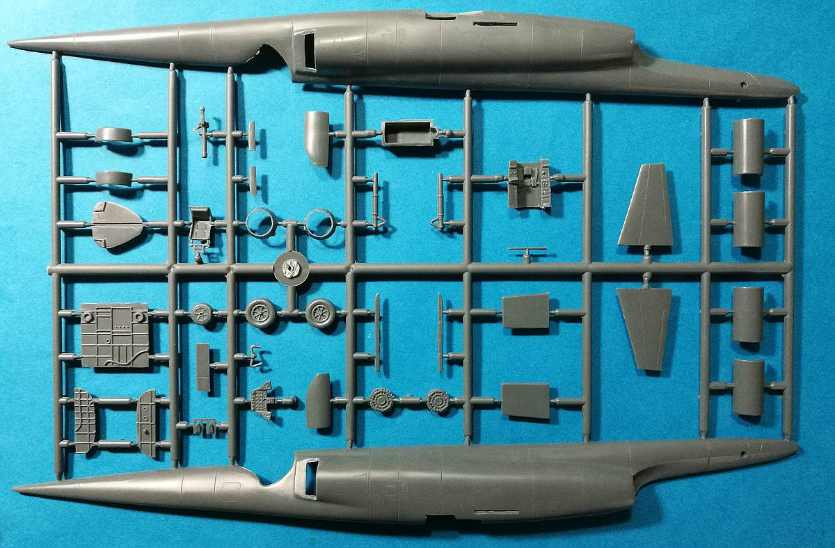 AZ-Model-AZ-7597-Douglas-X-3-Stiletto-7 Douglas X-3 Stiletto im Maßstab 1:72 von AZ Model AZ 7597