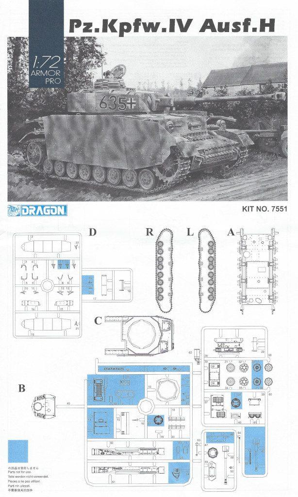 Anleitung1-614x1024 Pz. Kpfw. IV Ausf. H Dragon 1:72 (#7551)