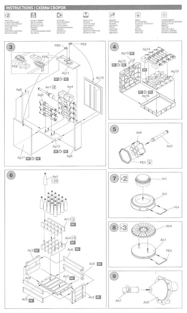 Anleitung2-1 German Grenades & Mines Set 1:35 Miniart (#35258)