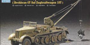 Sd. Kfz. 9/1 Early Version (Drehkran 6/ auf Zugkraftwagen 18T) FAMO Trumpeter 1:72 (07253)