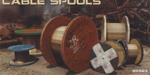 Cable Spools im MAßstab 1:35 von MiniArt #35583