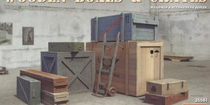 Wooden Boxes & Crates 1:35 Miniart (#35581)