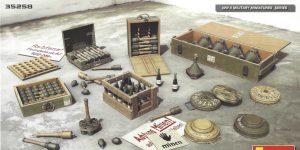 German Grenades & Mines Set 1:35 Miniart (#35258)