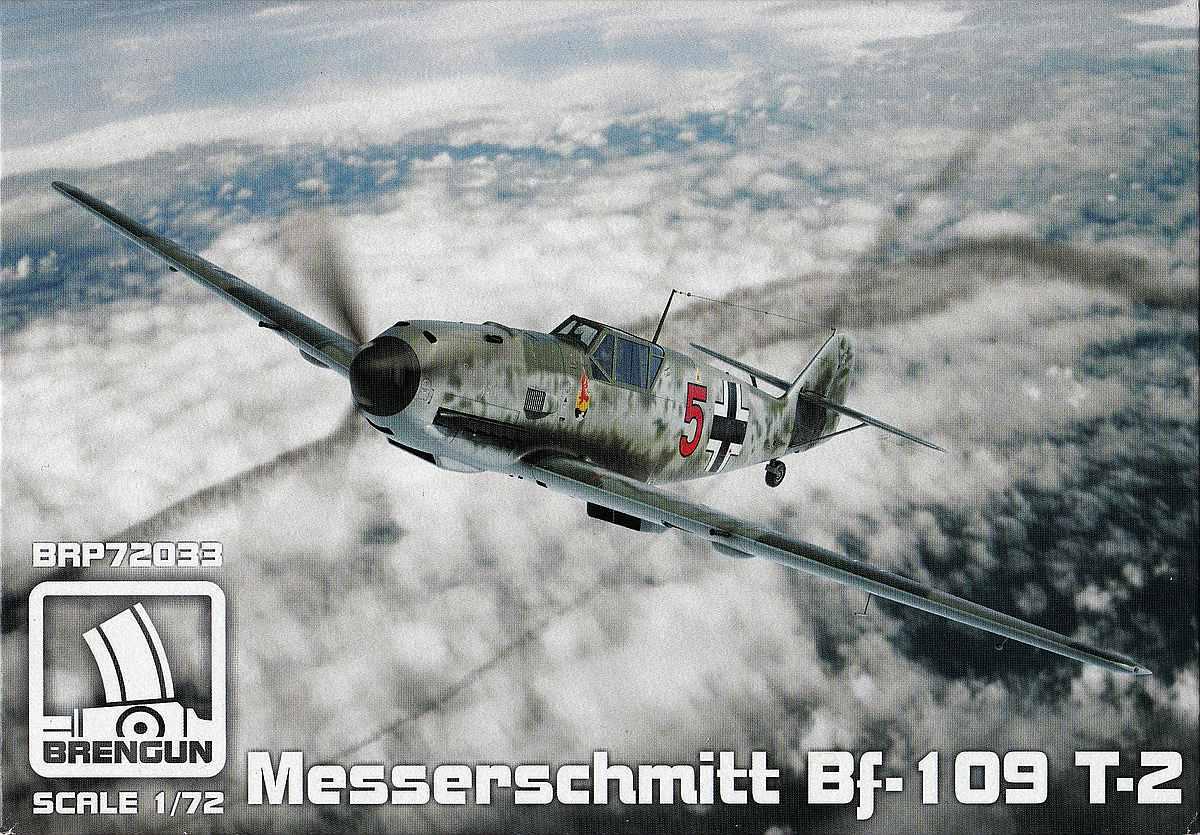 Brengun-BRP-72033-Messerschmitt-Bf-109T-5 Messerschmitt Bf 109T im Maßstab 1:72 von Brengun BRP 72033