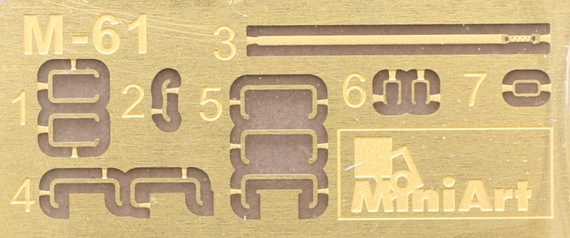 Decals-3 German Grenades & Mines Set 1:35 Miniart (#35258)