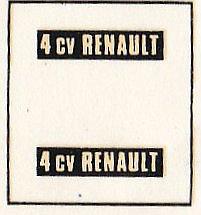 Heller-174-Renault-4CV-27 Kit-Archäologie: Renault 4CV im Maßstab 1:43 von Heller (# 174)