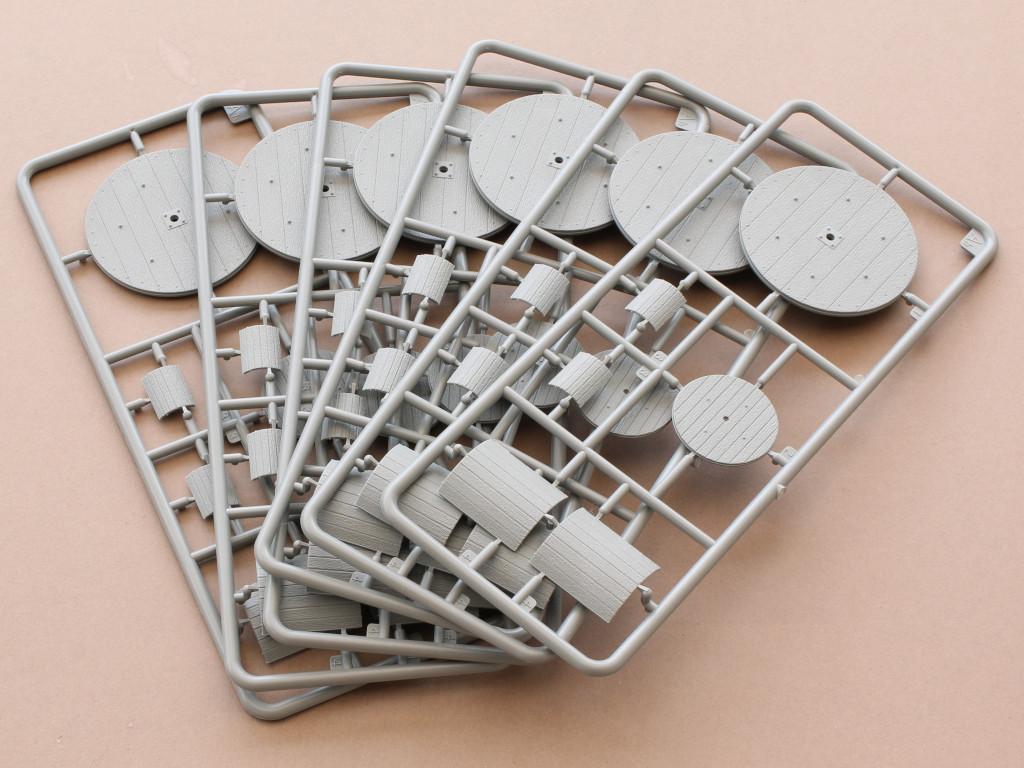 Inhalt Cable Spools im MAßstab 1:35 von MiniArt #35583