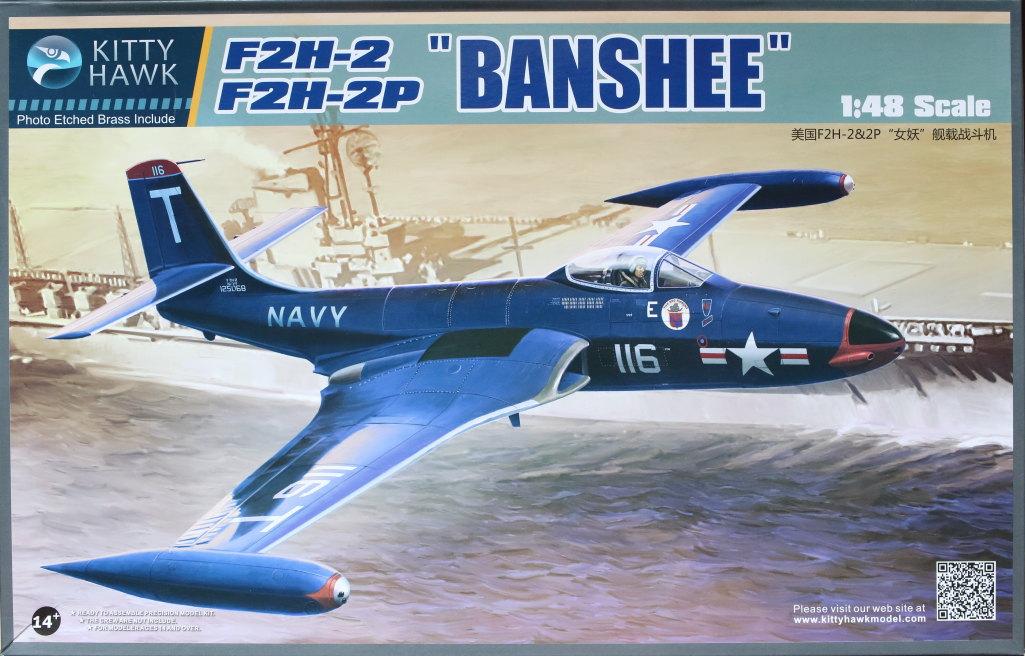 """KH_F2H_Banshee_01 F2H-2(P) """"Banshee"""" - Kitty Hawk 1/48"""