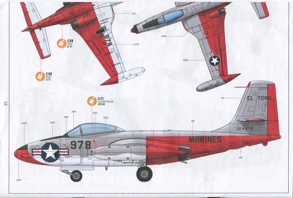 """KH_F2H_Banshee_36 F2H-2(P) """"Banshee"""" - Kitty Hawk 1/48"""