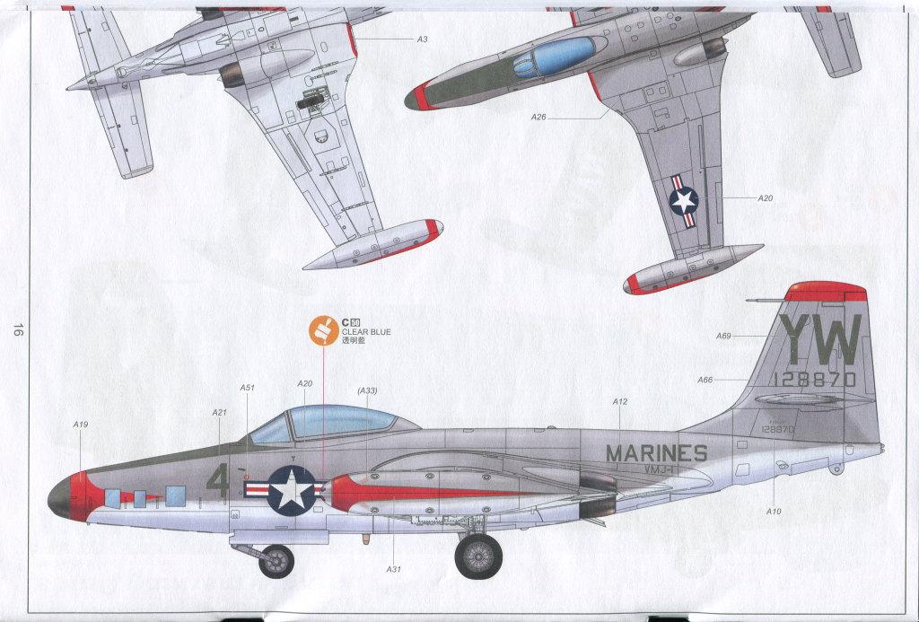 """KH_F2H_Banshee_37 F2H-2(P) """"Banshee"""" - Kitty Hawk 1/48"""