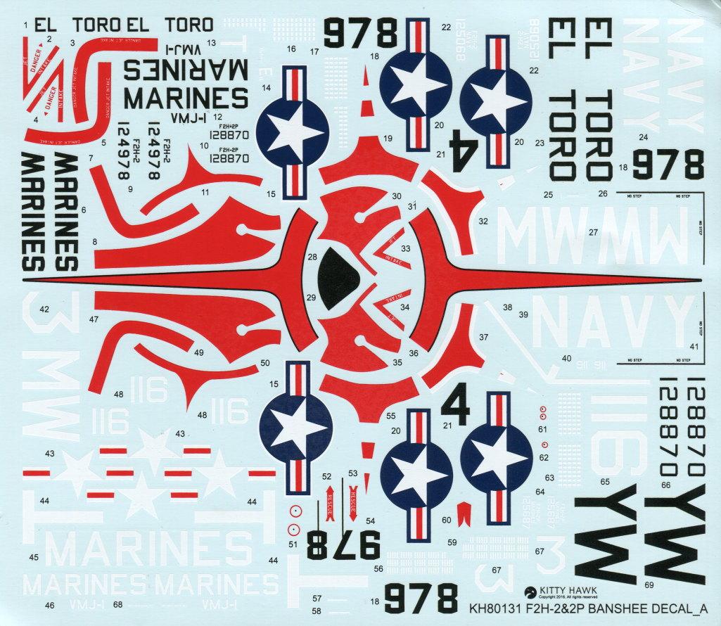 """KH_F2H_Banshee_46 F2H-2(P) """"Banshee"""" - Kitty Hawk 1/48"""