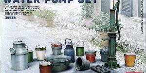 Water Pump Set im Maßstab 1:35 von MiniArt 35578