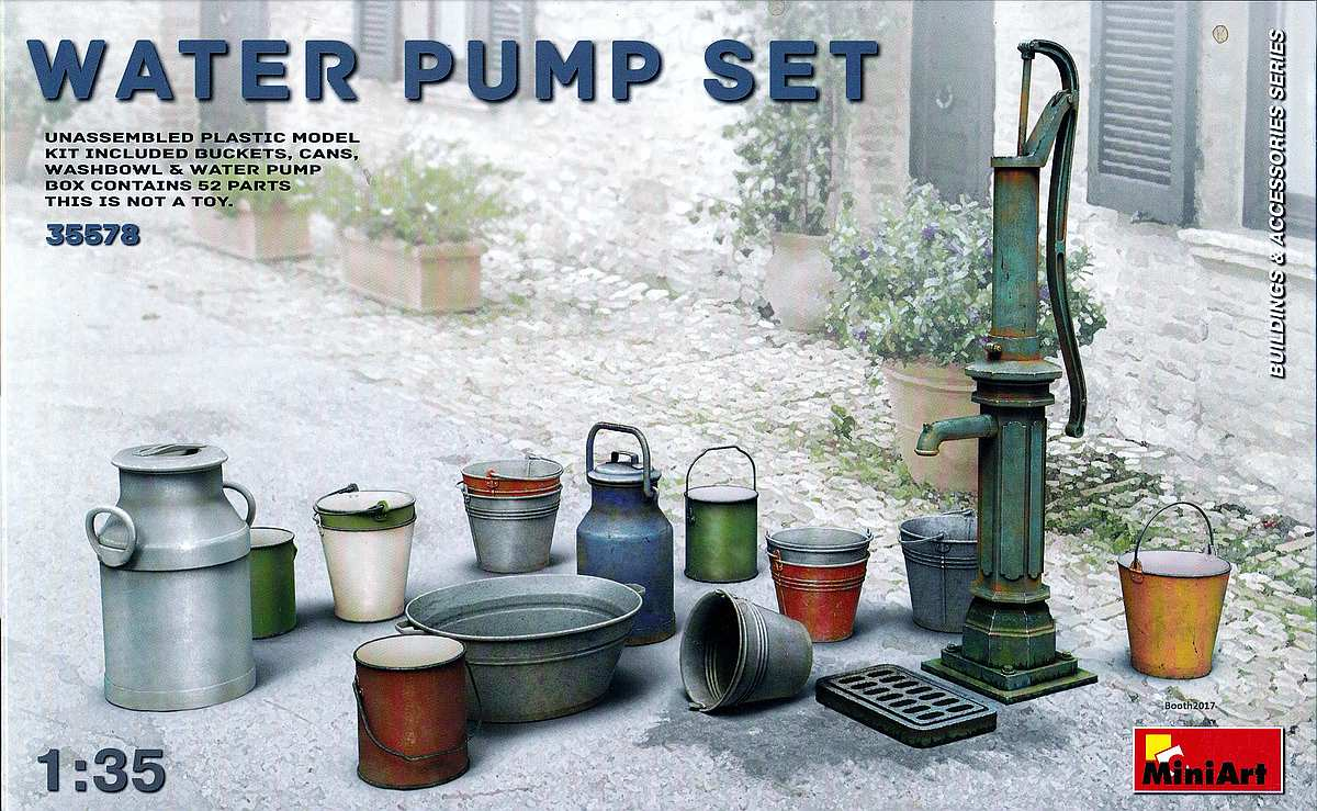 MiniArt-35578-Water-Pump-Set-6 Water Pump Set im Maßstab 1:35 von MiniArt 35578