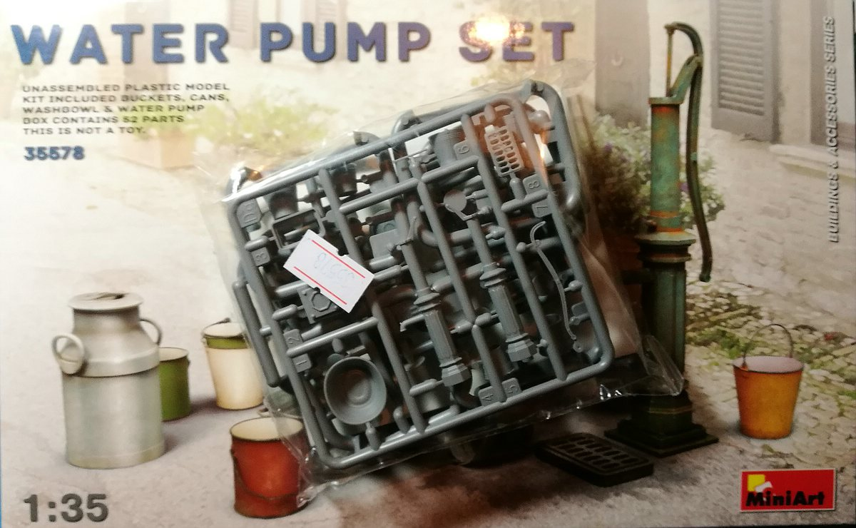 MiniArt-35578-Water-Pump-Set-9 Water Pump Set im Maßstab 1:35 von MiniArt 35578