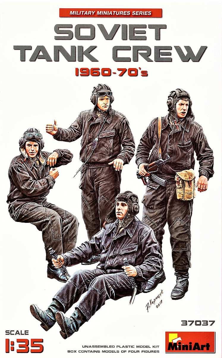 MiniArt-37037-Soviet-Tank-Crew-1960s-14 Soviet Tank Crew 1960-70´s in 1:35 von MiniArt 37037