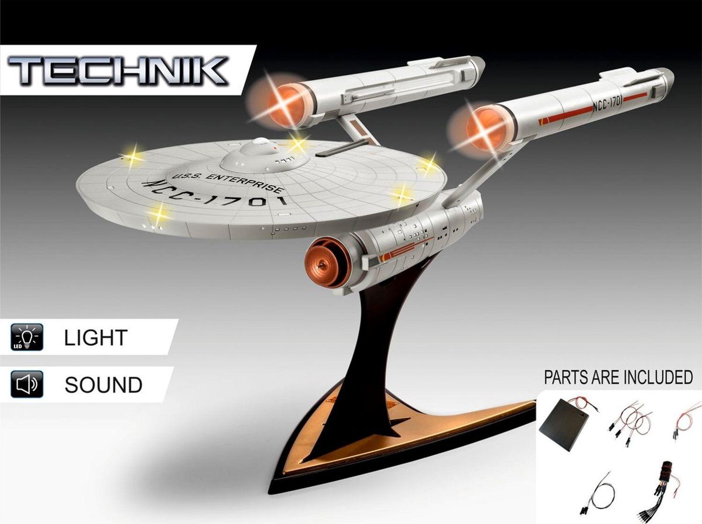 Revell-00454-Technik_USS-Enterprise-NCC-1701-Star-Trek Revell-Neuheiten im I. Quartal 2019