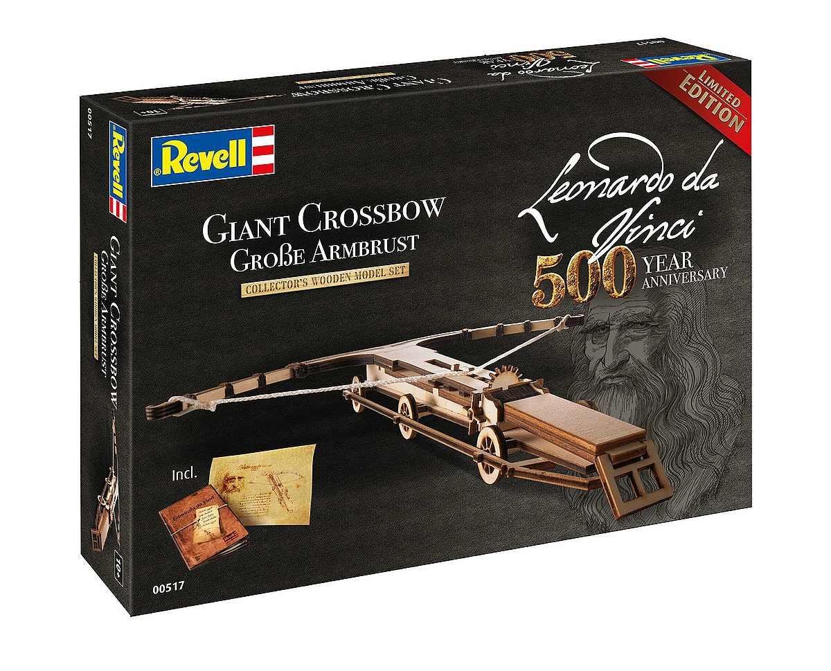 Revell-00517-Giant-Crossbow-Leonardo-da-Vinci-500th-Anniversary Revell-Neuheiten im I. Quartal 2019