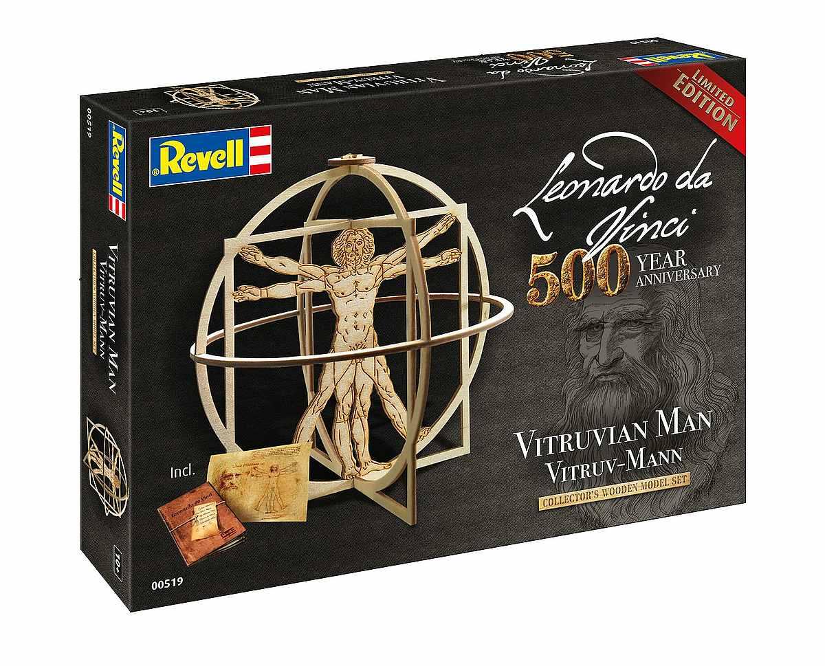 Revell-00519-Vitruv-Man-Leonardo-da-Vinci-500th-Anniversary Revell-Neuheiten im I. Quartal 2019