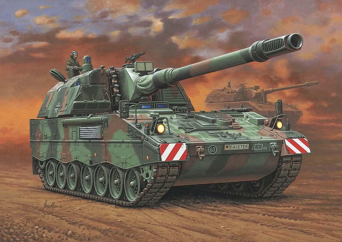 Revell-03279-Panzerhaubitze-2000 Revell-Neuheiten im I. Quartal 2019