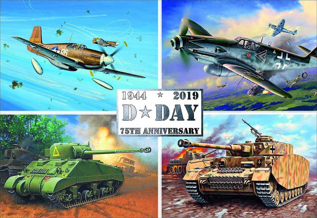 Revell-03352-75th-Anniversary-Set-D-Day Revell-Neuheiten im I. Quartal 2019
