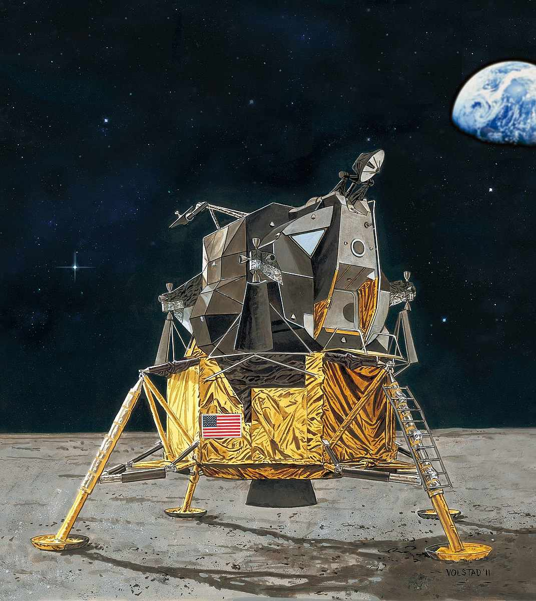 Revell-03701-Apollo-11-Lunar-Module-Eagle-50th-Anniversary-Moon-Landing Revell-Neuheiten im I. Quartal 2019