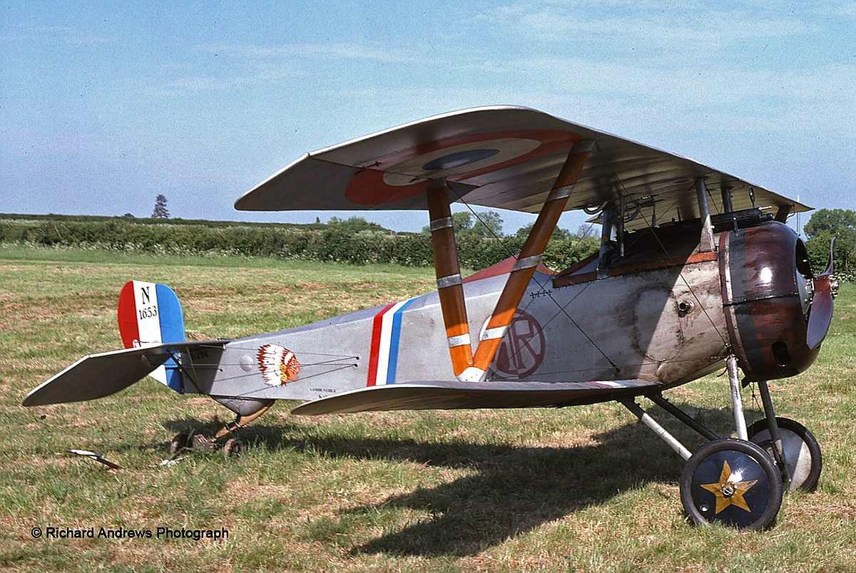 Revell-03885-Nieuport-17-c-Richard-Andrews-Photograph Revell-Neuheiten im I. Quartal 2019