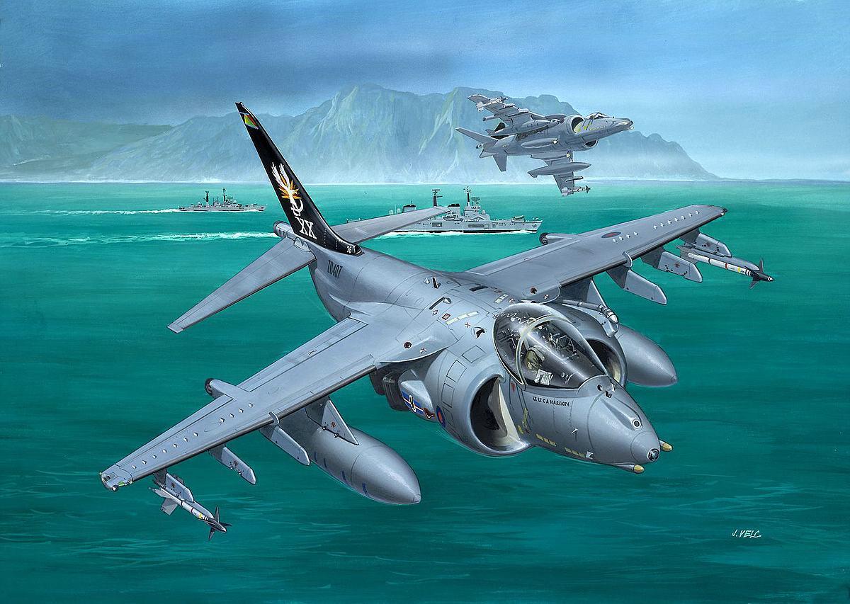 Revell-03887-BAe-Harrier-GR.7 Revell-Neuheiten im I. Quartal 2019