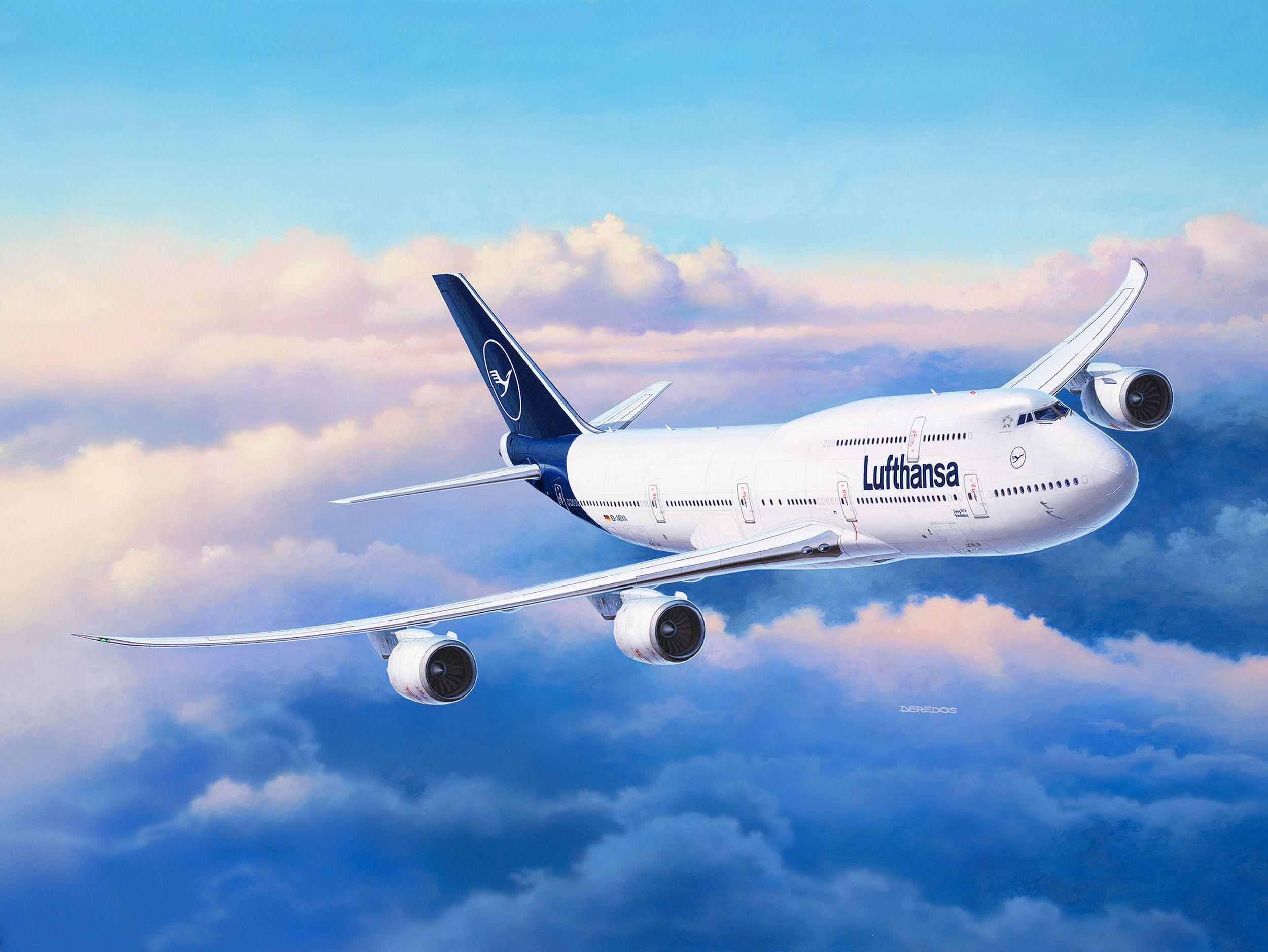 Revell-03891-Boeing-747-8-Lufthansa-New-Livery Revell-Neuheiten im I. Quartal 2019
