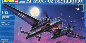 Arado Ar 240 C-2 Nachtjäger im Maßstab 1:72 von Revell 04310