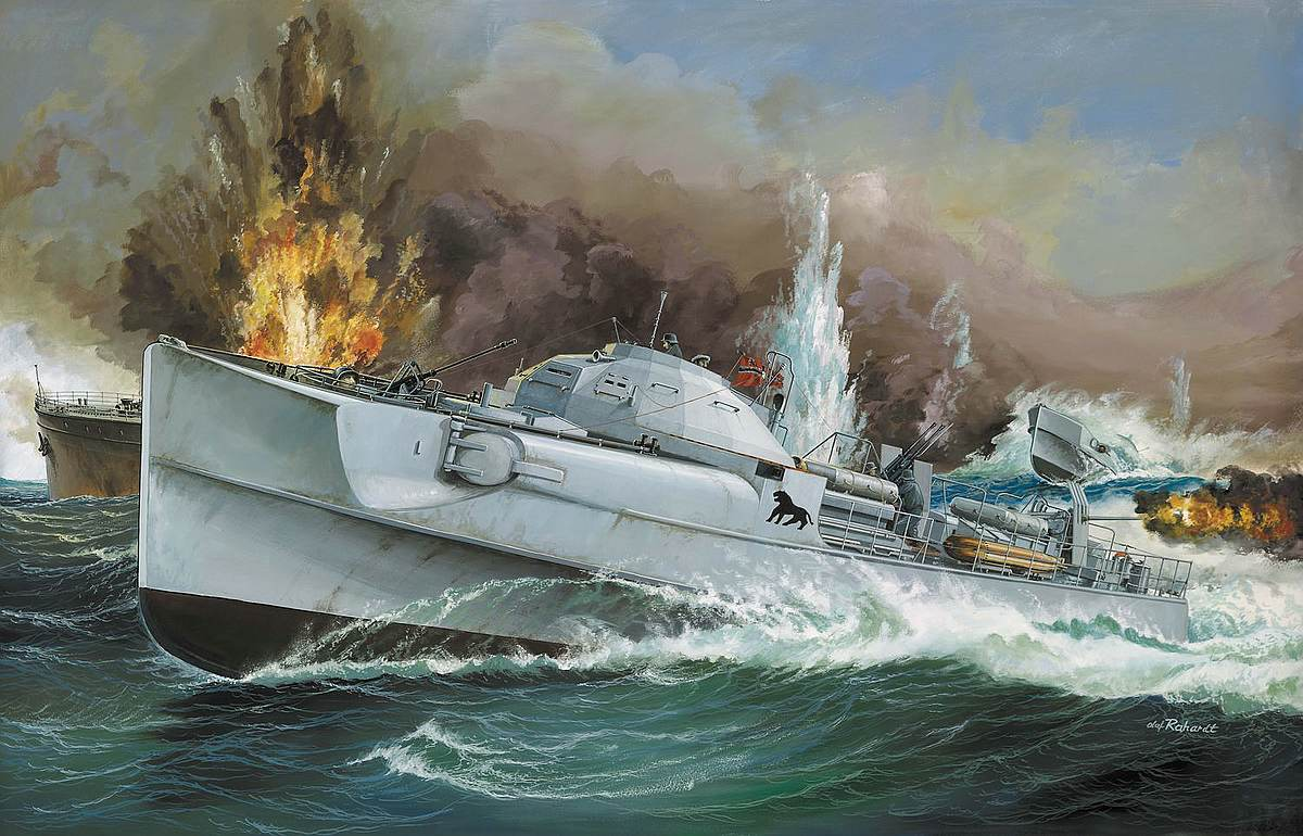Revell-05162-German-Fast-Attack-Craft-S-100-CLASS Revell-Neuheiten im I. Quartal 2019