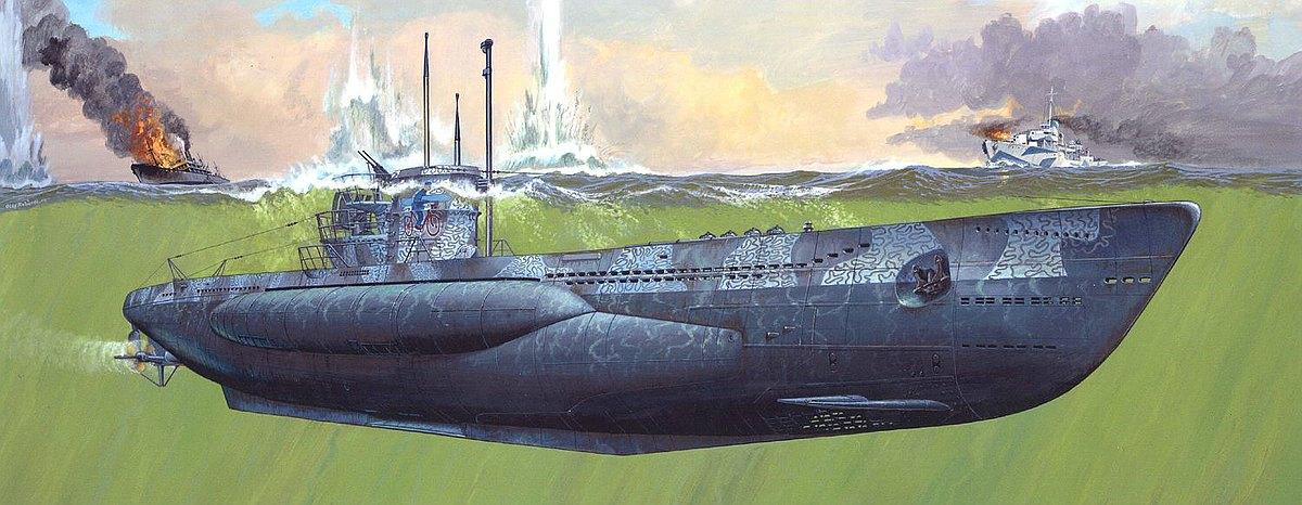Revell-05163-German-Submarine-Type-VII-C41 Revell-Neuheiten im I. Quartal 2019