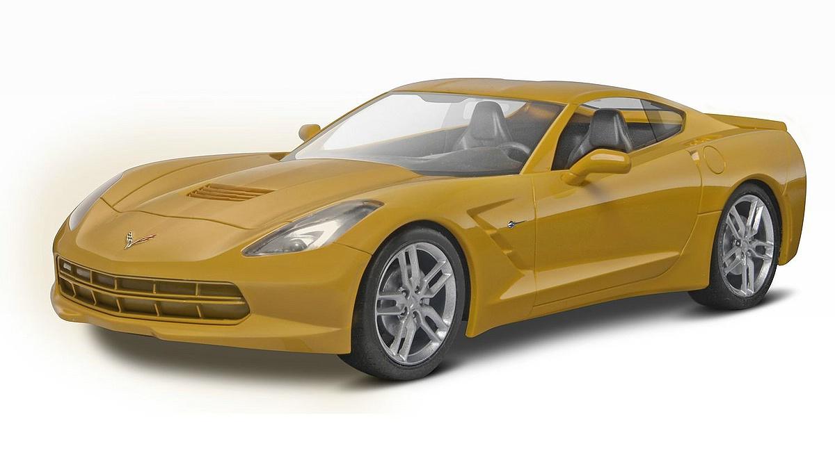 Revell-07449-2014-Corvette-Stingray Revell-Neuheiten im I. Quartal 2019