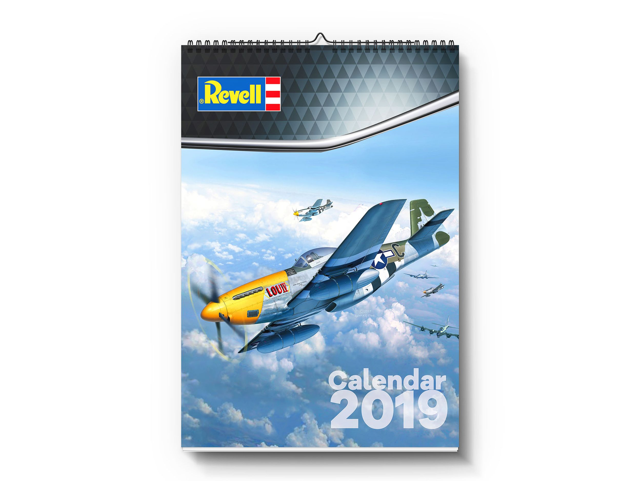 Revell-95251-Revell-Calendar-2019 Revell-Neuheiten im I. Quartal 2019