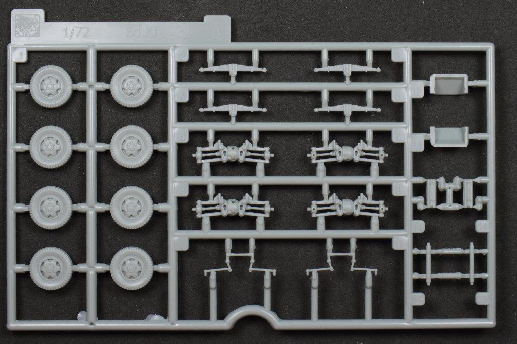 Review_sdkfz231_Dragon_07 Sd.Kfz. 231 Schwerer Panzerspähwagen 8-Rad in 1:72 von Dragon 7483