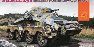 Sd.Kfz. 231 Schwerer Panzerspähwagen 8-Rad in 1:72 von Dragon 7483
