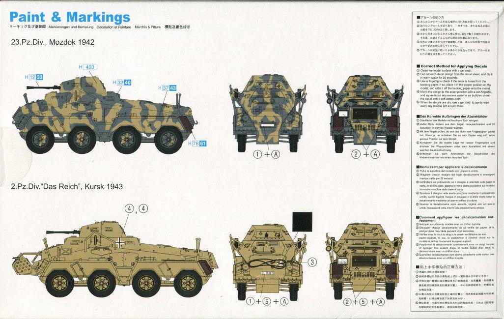 Review_sdkfz231_Dragon_15 Sd.Kfz. 231 Schwerer Panzerspähwagen 8-Rad in 1:72 von Dragon 7483