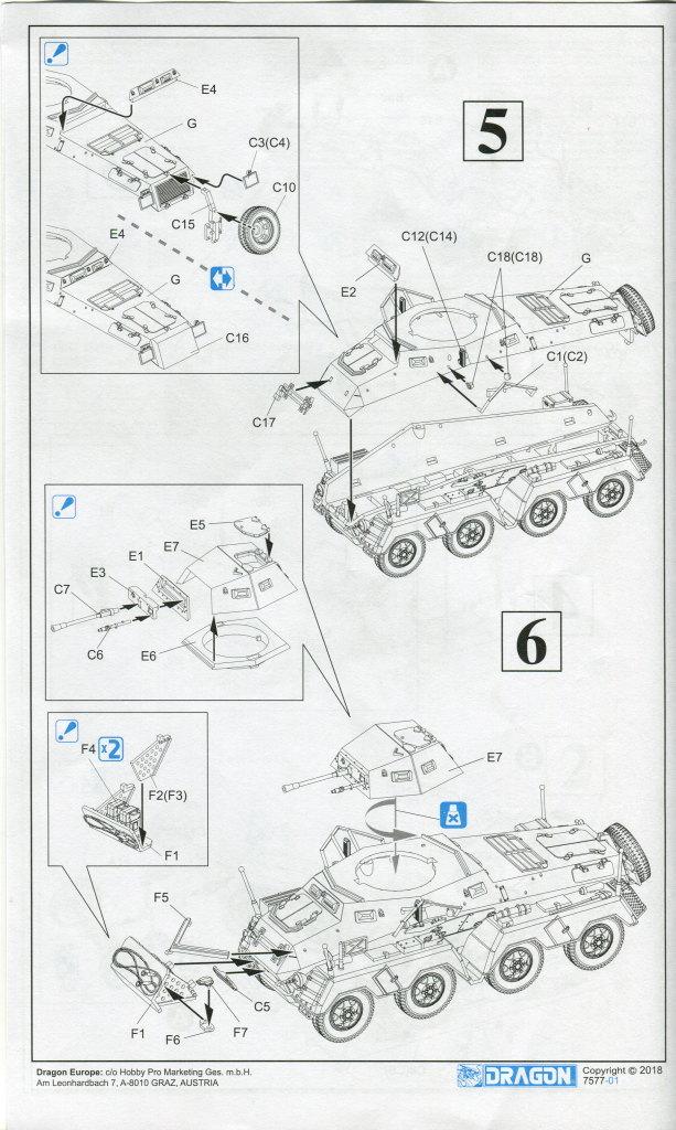 Review_sdkfz231_Dragon_19 Sd.Kfz. 231 Schwerer Panzerspähwagen 8-Rad in 1:72 von Dragon 7483