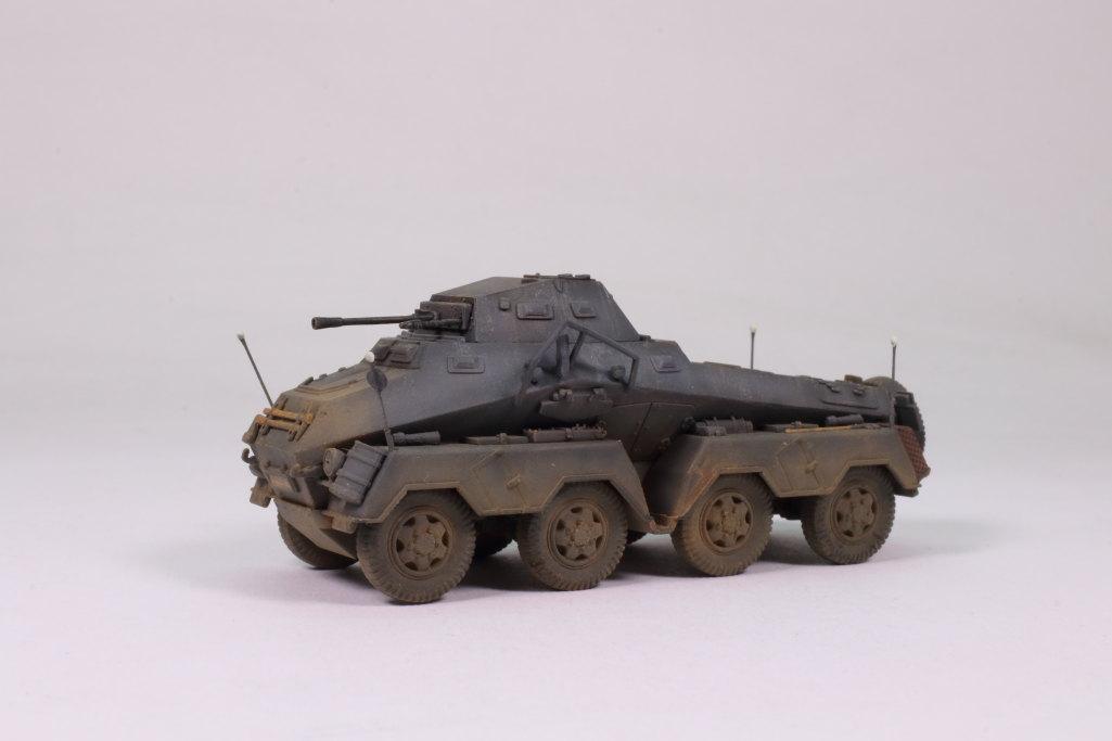 Review_sdkfz231_Dragon_20 Sd.Kfz. 231 Schwerer Panzerspähwagen 8-Rad in 1:72 von Dragon 7483