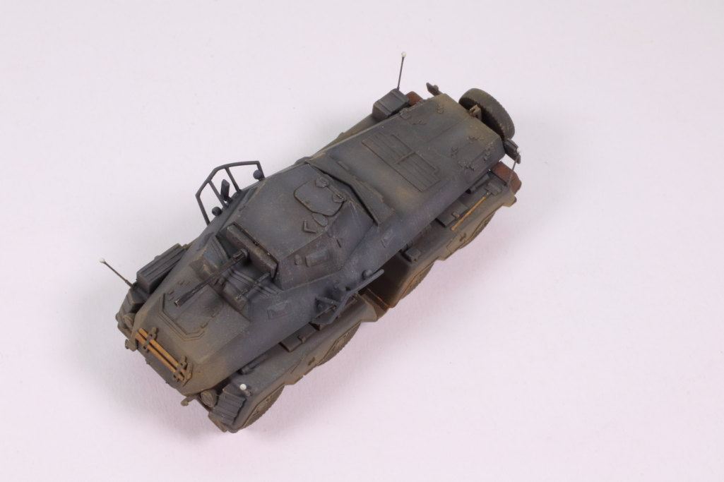Review_sdkfz231_Dragon_21 Sd.Kfz. 231 Schwerer Panzerspähwagen 8-Rad in 1:72 von Dragon 7483