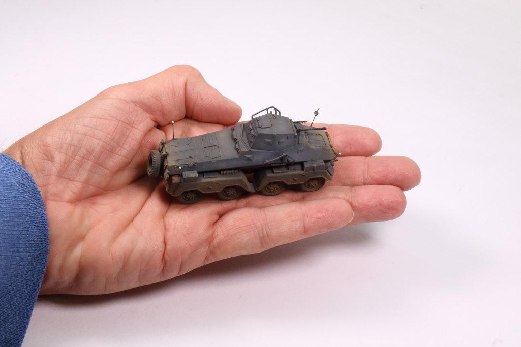 Review_sdkfz231_Dragon_23 Sd.Kfz. 231 Schwerer Panzerspähwagen 8-Rad in 1:72 von Dragon 7483